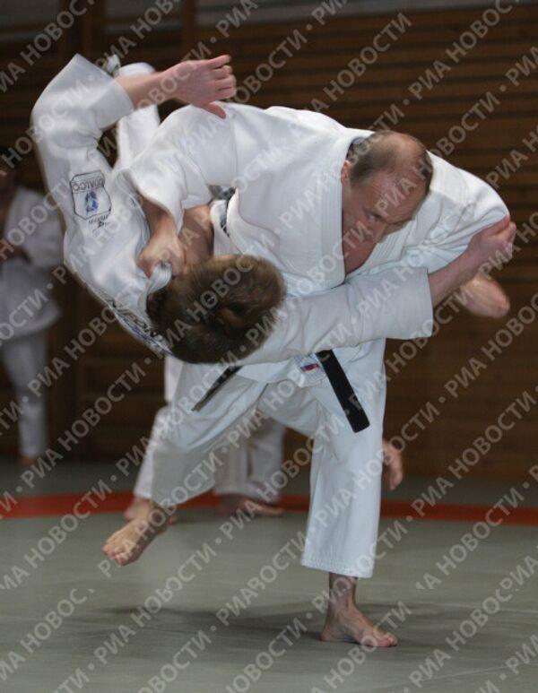 Poutine envisagerait-il une carrière de judoka professionnel? - Sputnik France