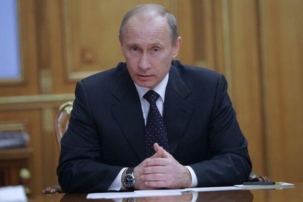 le premier ministre Vladimir Poutine - Sputnik France