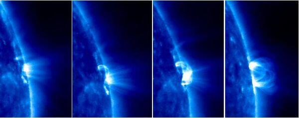 Espace: premières images du Soleil fournies par la sonde russe Koronas-Photon - Sputnik France
