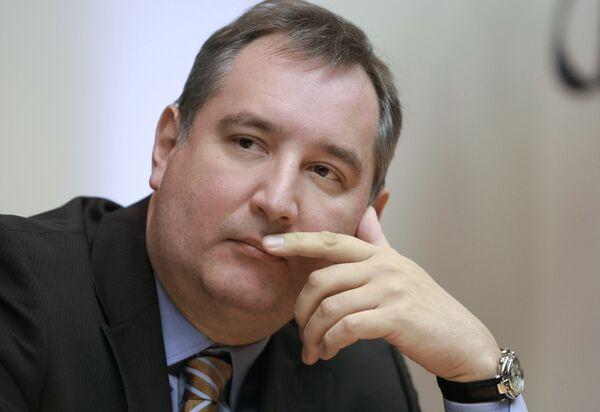 Le représentant permanent de la Russie auprès de l'Alliance atlantique Dmitri Rogozine - Sputnik France