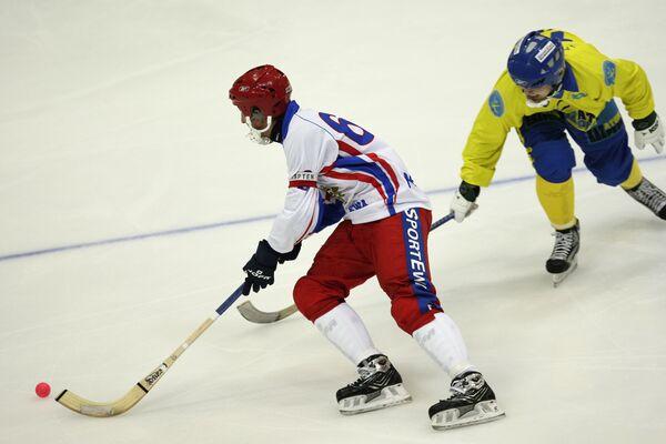 Bandy - CM (H): la Russie en demi-finales - Sputnik France