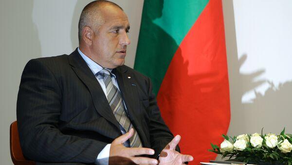 Le premier ministre bulgare Boïko Borissov - Sputnik France