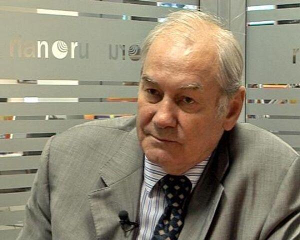 Le président de l'Académie des problèmes géopolitiques le général Leonid Ivachov - Sputnik France