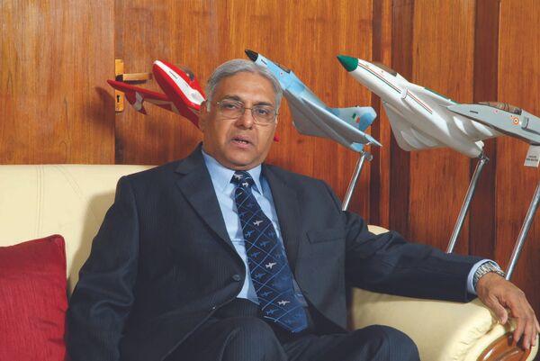 Le président du consortium public indien Hindoustan Aeronautics Limited (HAL) Ashok Nayak - Sputnik France