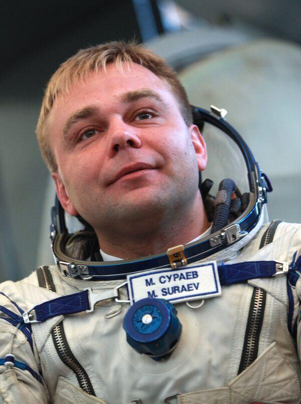 Le cosmonaute russe Maksim Souraïev et l'astronaute américain Jeffrey Williams - Sputnik France