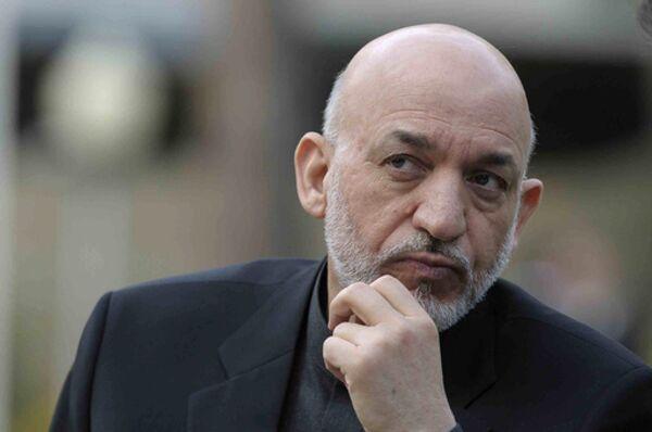 Le président afghan Hamid Karzaï - Sputnik France
