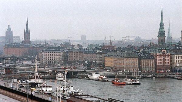 Город Стокгольм - Sputnik France