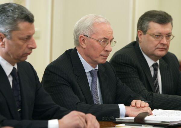 Le premier ministre ukrainien Nikolaï Azarov - Sputnik France