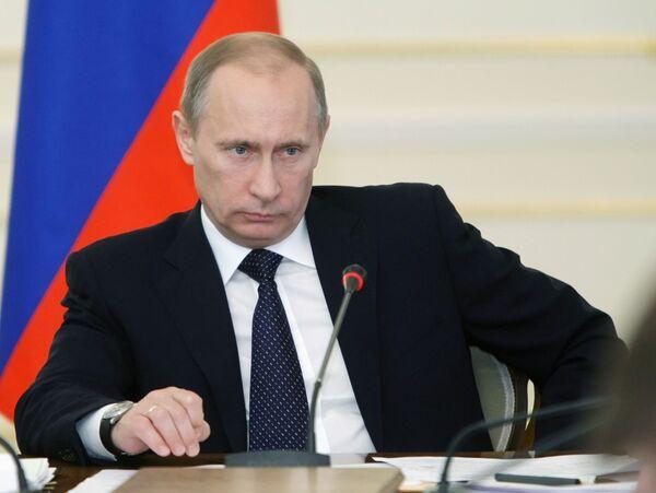 Le chef du gouvernement Vladimir Poutine - Sputnik France