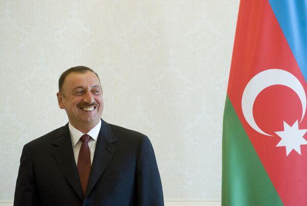 Le président azerbaïdjanais Ilham Aliev - Sputnik France