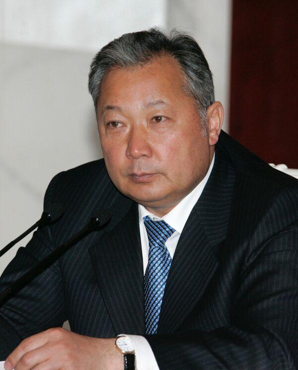 Le président déchu kirghiz Kourmanbek Bakiev - Sputnik France