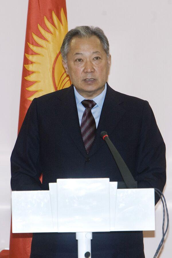 Le président déchu Kourmanbek Bakiev - Sputnik France