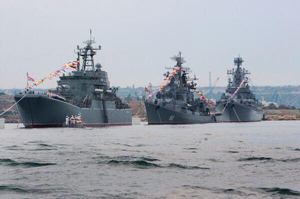 Flotte russe de la mer Noire - Sputnik France