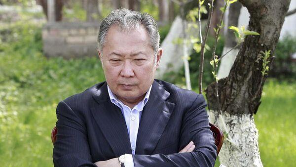 Le président kirghiz déchu Kourmanbek Bakiev - Sputnik France