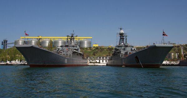 La Flotte russe de la mer Noire à Sébastopol - Sputnik France