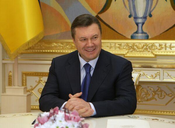 Le président ukrainien Viktor Ianoukovitch. Archives. - Sputnik France