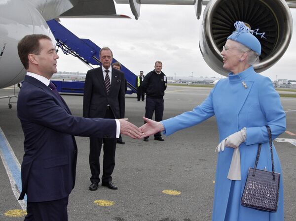 Medvedev arrive à Copenhague en visite d'Etat - Sputnik France