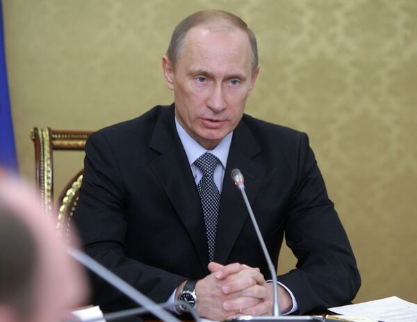 Le premier ministre russe Vladimir Poutine - Sputnik France