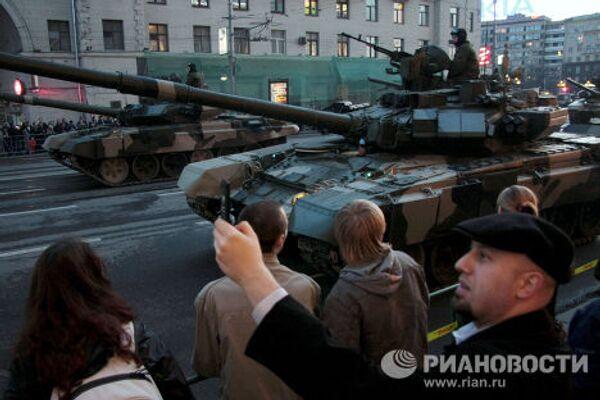 Première répétition nocturne du Défilé de la Victoire de Moscou - Sputnik France
