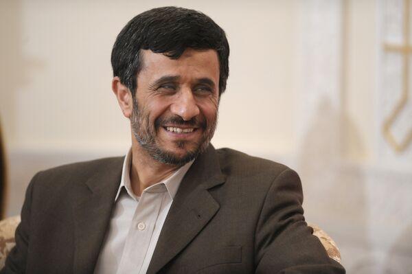 Le président iranien Mahmoud Ahmadinejad - Sputnik France