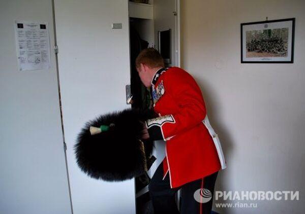 Défilé de la Victoire de Moscou: les préparatifs des Welsh Guards   - Sputnik France