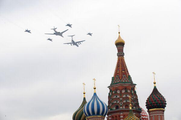 L'aviation militaire s'est entraînée dans le ciel de Moscou - Sputnik France