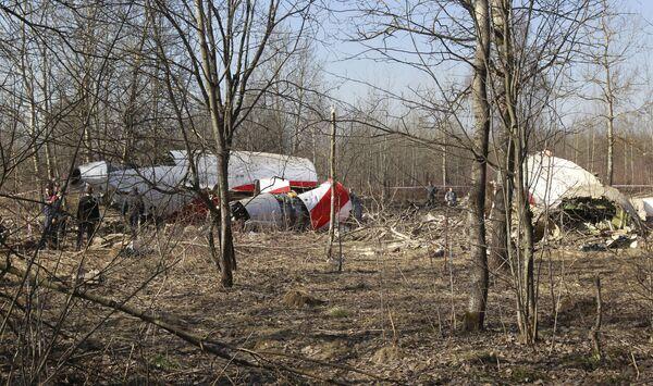 Crash de l'avion de Lech Kaczynski - Sputnik France