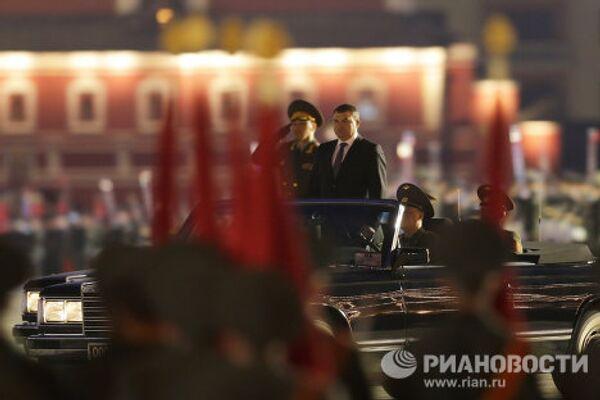 Victoire: Répétition nocturne du défilé sur la place Rouge - Sputnik France