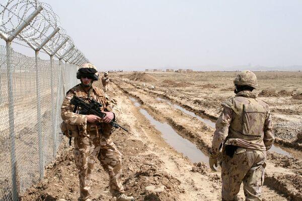 Les militaires de la Force internationale d'assistance à la sécurité (ISAF) - Sputnik France
