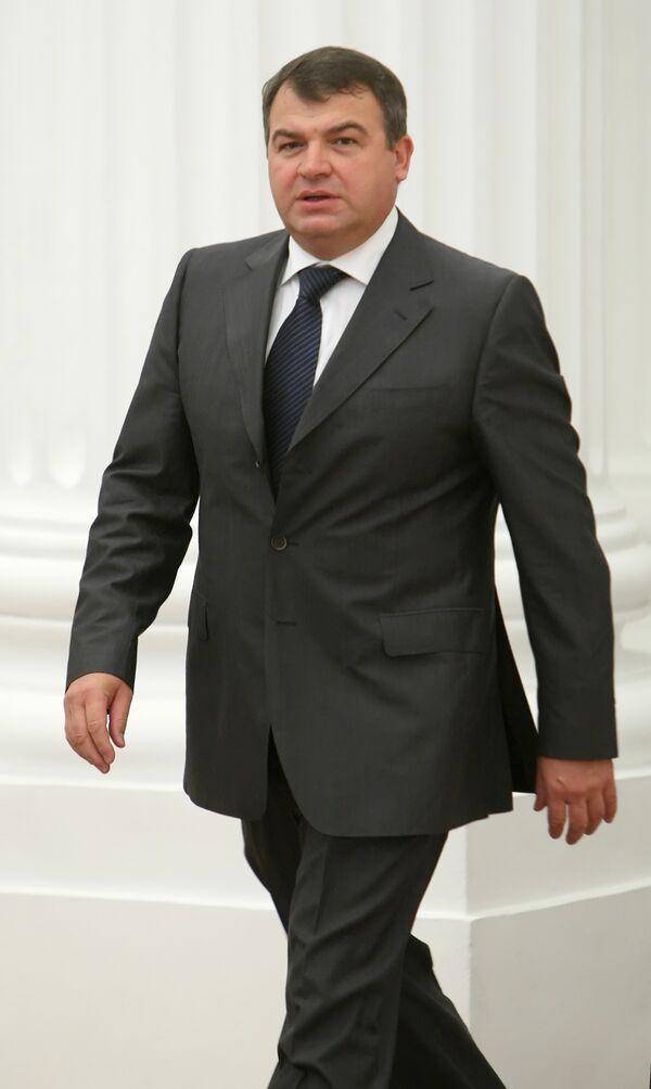 Le ministre russe de la Défense Anatoli Serdioukov - Sputnik France