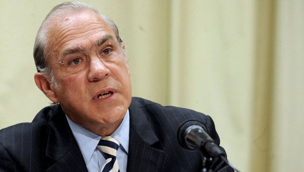 Angel Gurria, secrétaire général de l'OCDE - Sputnik France