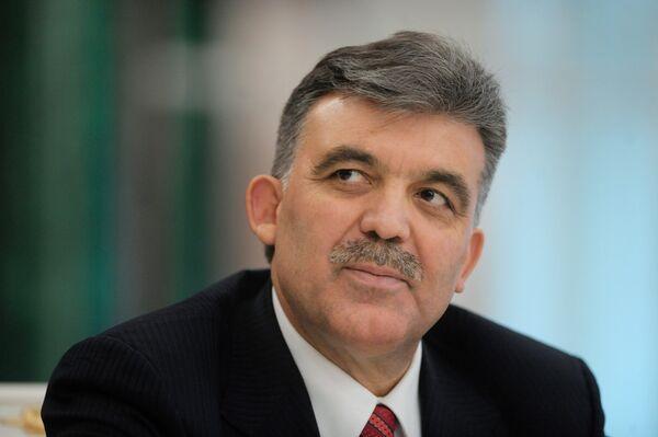 Le président turc Abdullah Gül - Sputnik France