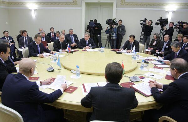 CEEA/Union douanière: Medvedev au Kazakhstan les 5 et 6 juillet - Sputnik France