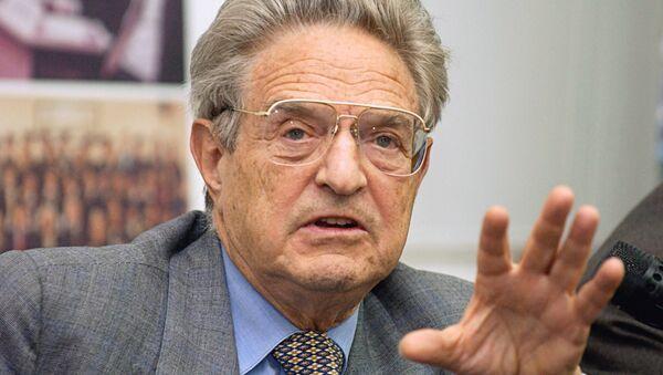 Американский предприниматель и филантроп Джордж Сорос - Sputnik France