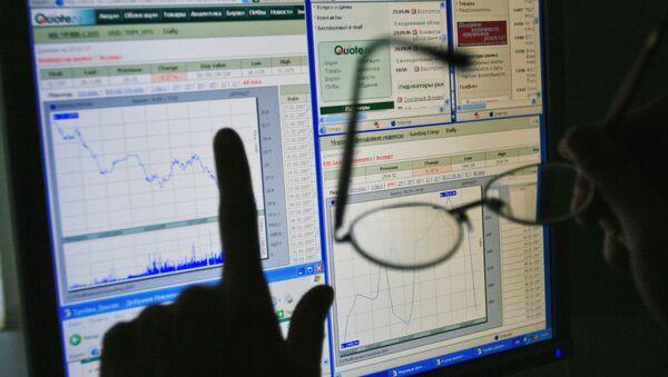 Un graphique de l'état du marché financier - Sputnik France