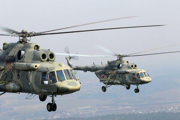 Hélicoptères Mi-17 - Sputnik France