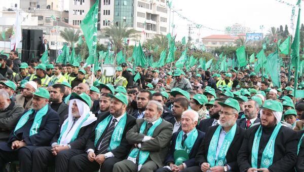 Движение ХАМАС отметило 22-летие многотысячным митингом в Газе - Sputnik France