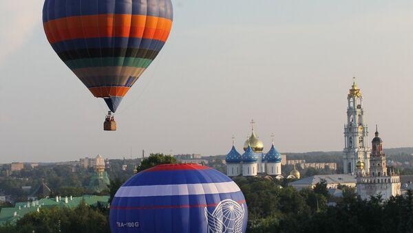 Des ballons dans les environs de Moscou - Sputnik France