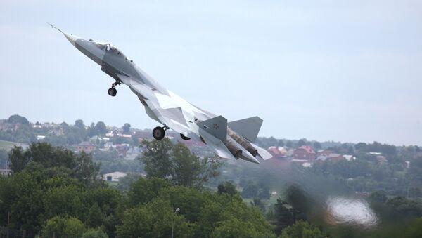 Chasseur de cinquième génération Sukhoi T-50 (PAK FA) - Sputnik France