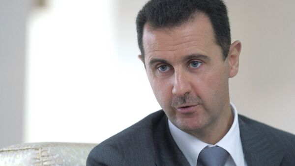 Dmitry Medvedev meeting with Bashar al-Assad - Sputnik France