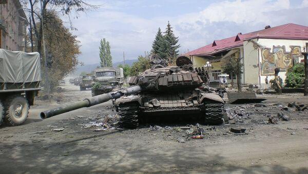 Ossétie du Sud en août 2008 - Sputnik France