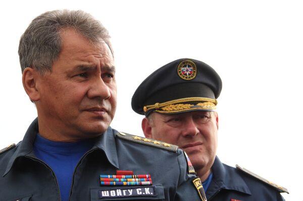 Le ministre russe des Situations d'urgence Sergueï Choïgou - Sputnik France
