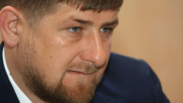 Le président tchétchène Ramzan Kadyrov - Sputnik France
