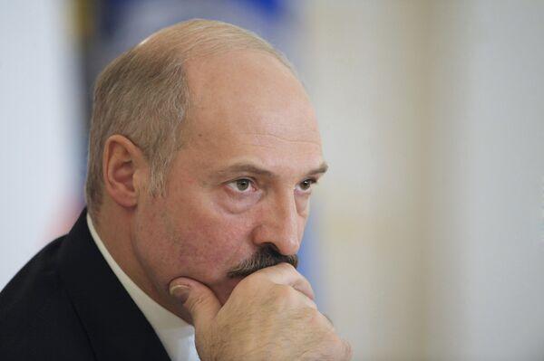 Le président biélorusse Alexandre Loukachenko  - Sputnik France