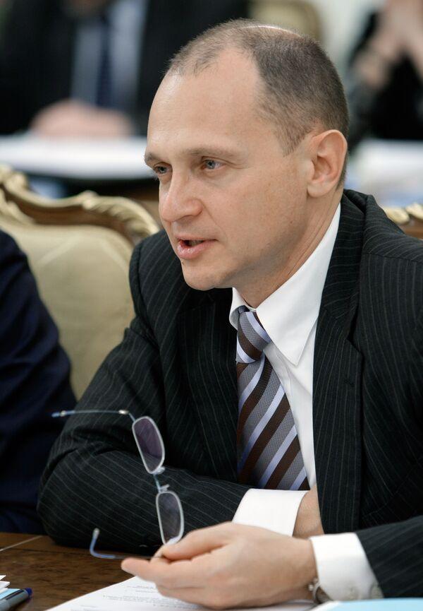 Le directeur du groupe nucléaire public russe (Rosatom) Sergueï Kirienko - Sputnik France