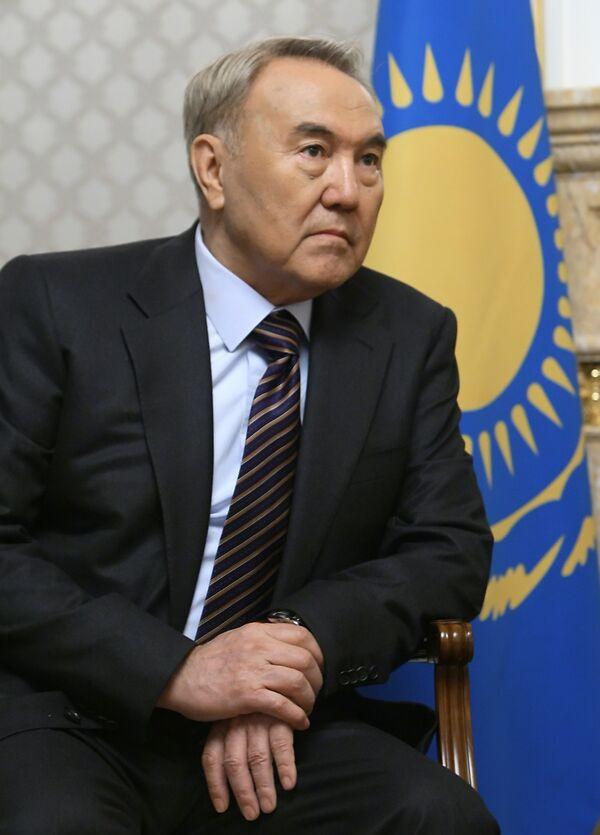 Le président kazakh Noursoultan Nazarbaïev - Sputnik France