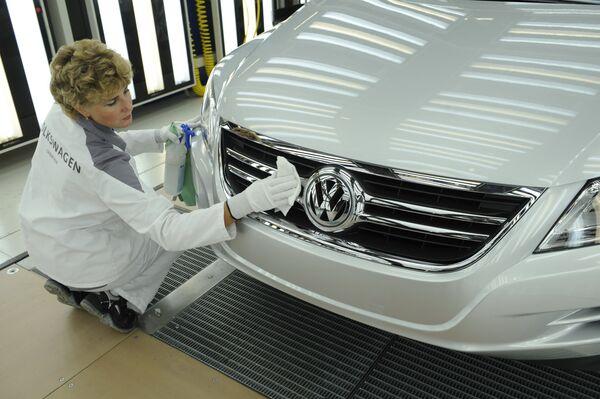 L'usine de Volkswagen  dans la région de Kalouga - Sputnik France