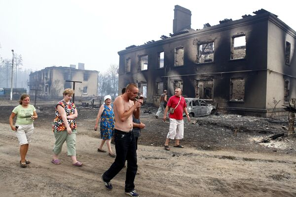 Quelque 150 personnes dans la région de Volgograd ont perdu leur logement suite à des incendies naturels - Sputnik France
