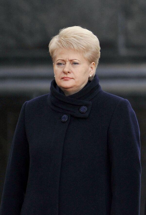 La présidente lituanienne Dalia Grybauskaite - Sputnik France