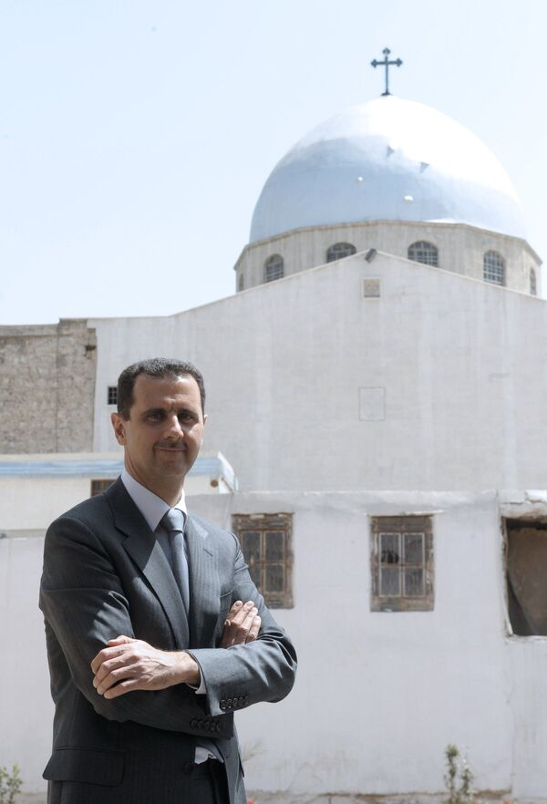 Le président syrien Bachar al-Assad - Sputnik France